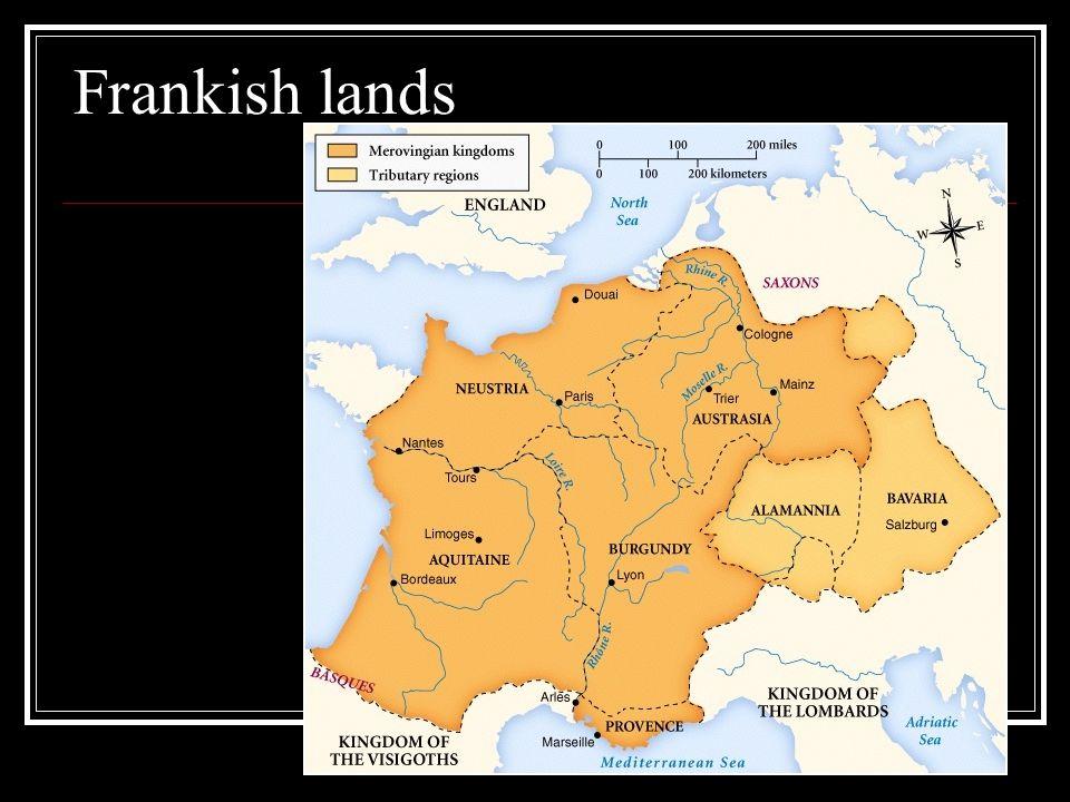 Frankish lands