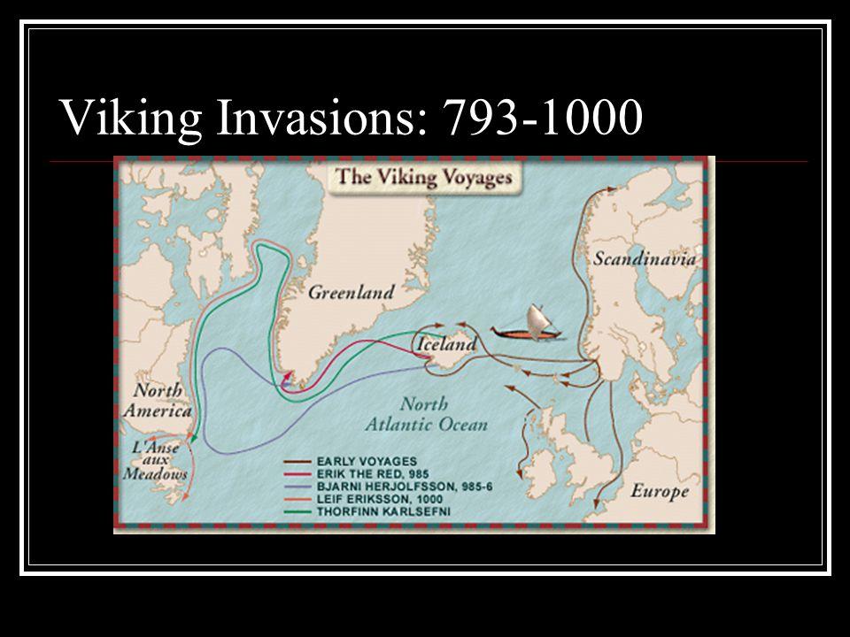 Viking Invasions: 793-1000