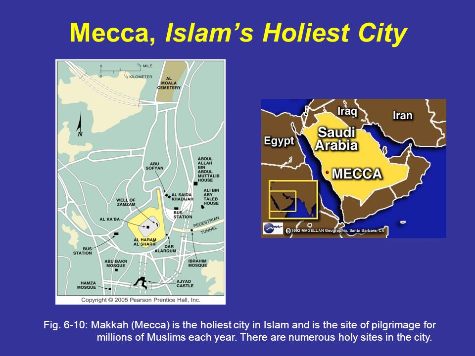 Mecca, Islam's Holiest City Fig.