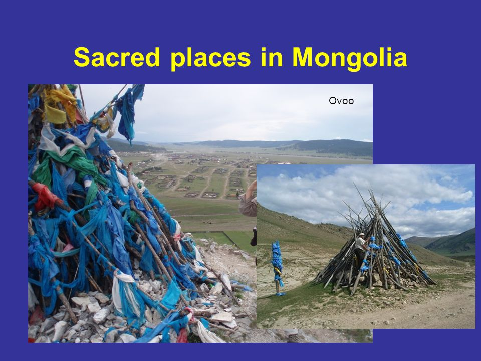 Sacred places in Mongolia Ovoo