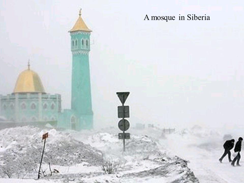 A mosque in Siberia