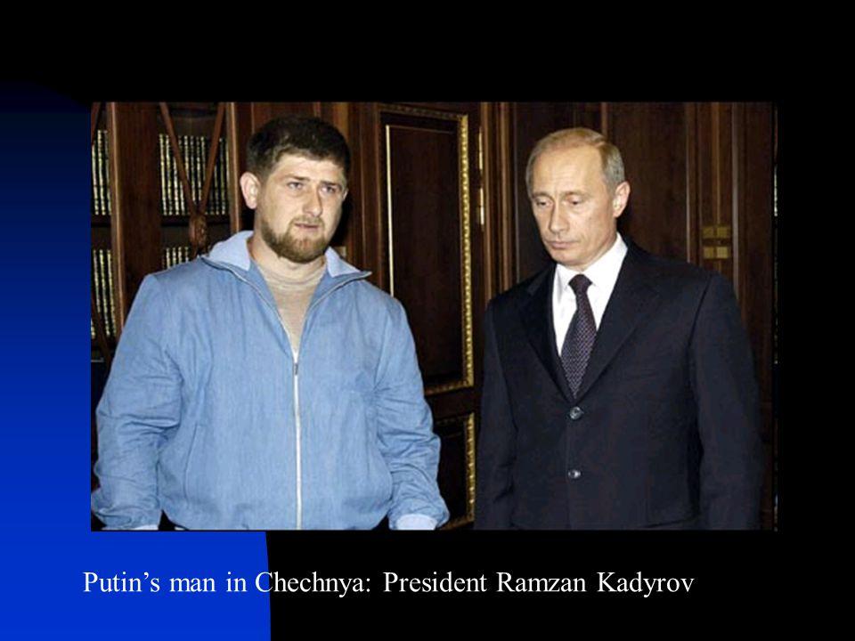 Putin's man in Chechnya: President Ramzan Kadyrov