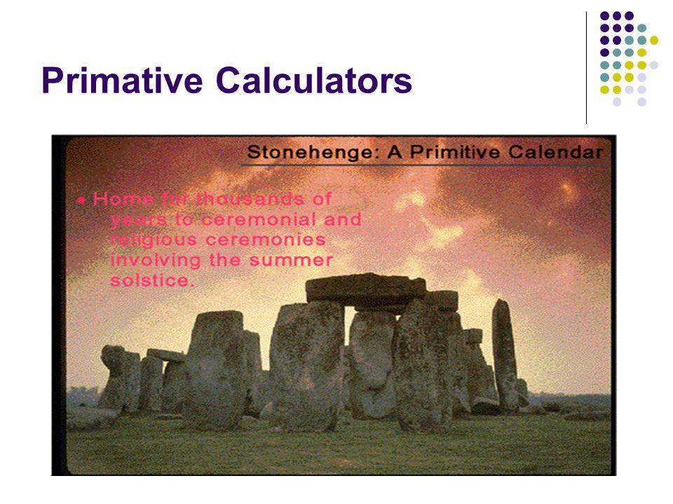 Primative Calculators
