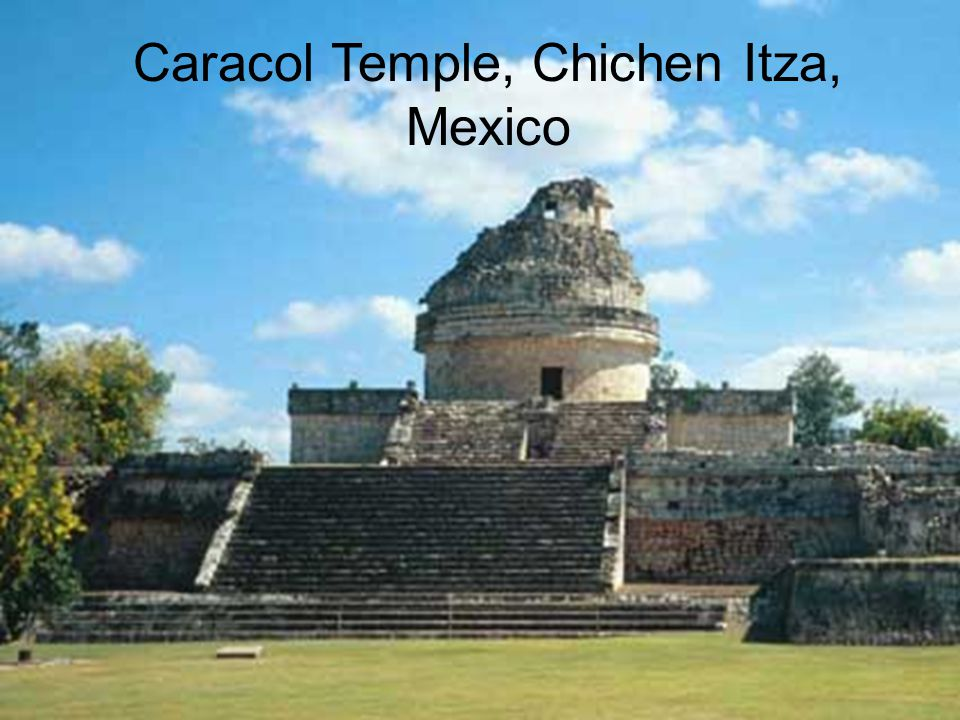 Caracol Temple, Chichen Itza, Mexico