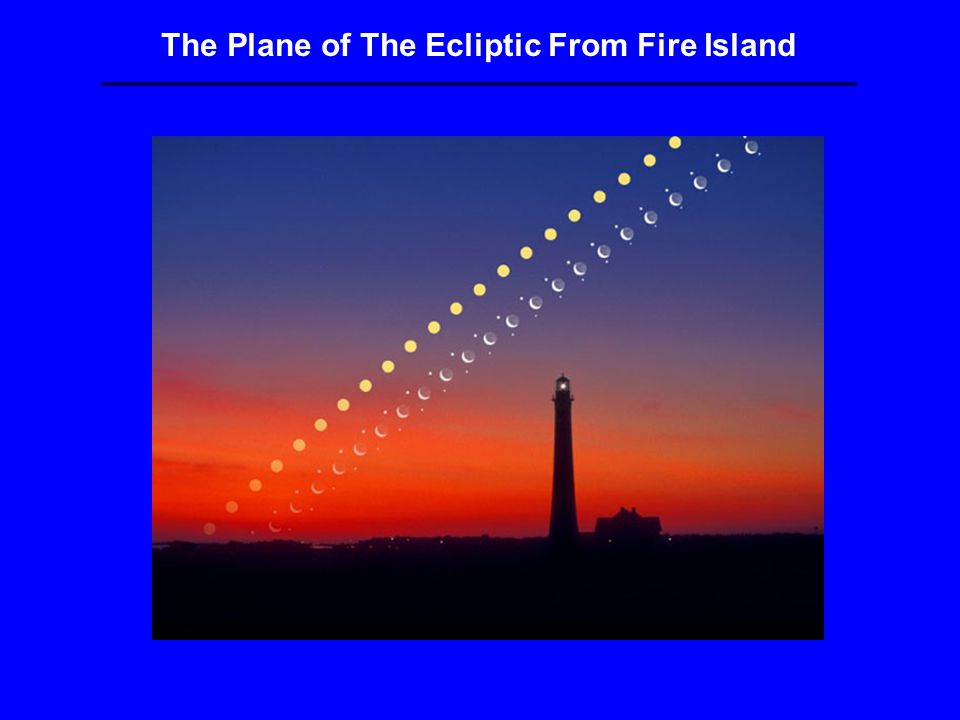 The Plane of The Ecliptic From Fire Island