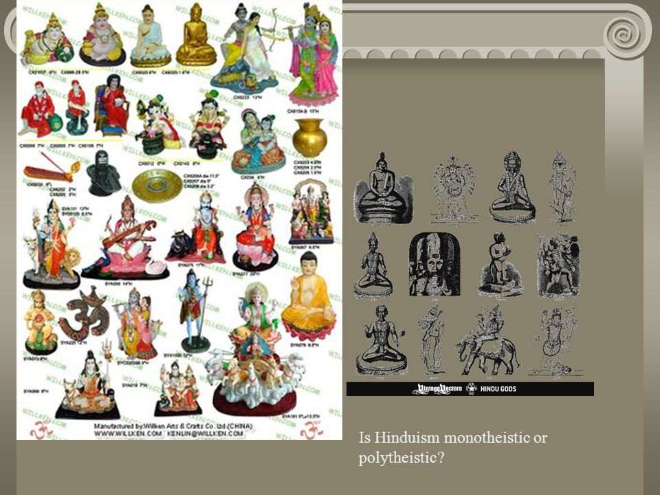 Is Hinduism monotheistic or polytheistic?