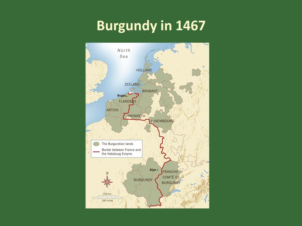 Burgundy in 1467