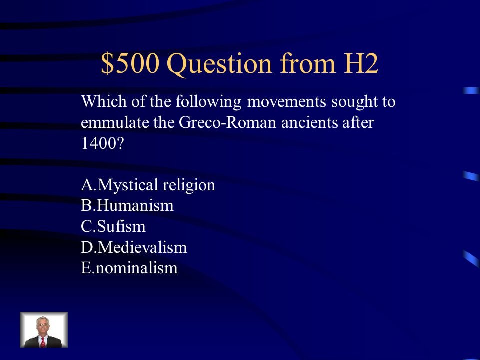 $400 Answer from H2 C.