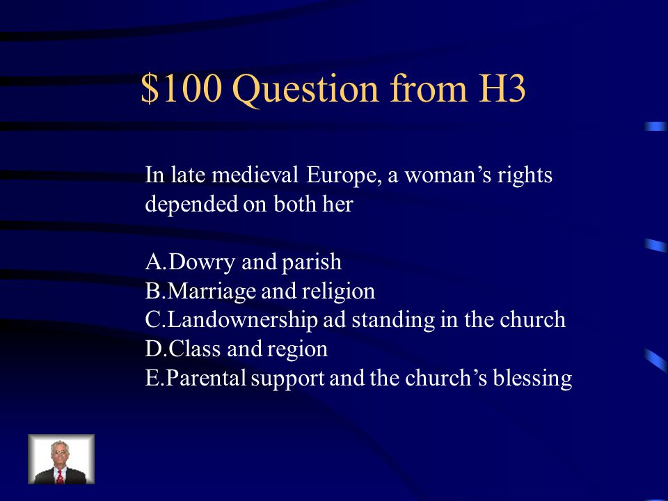 $500 Answer from H2 B.