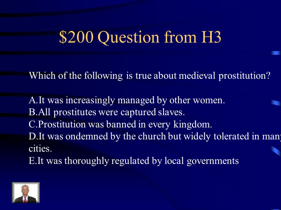 $100 Answer from H3 D.