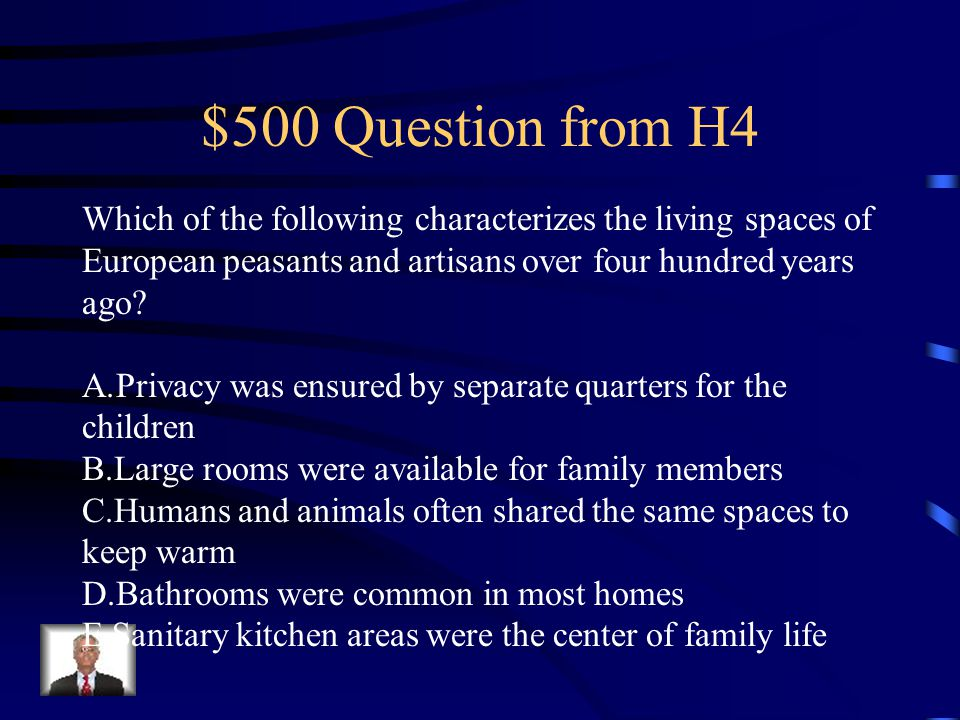 $400 Answer from H4 E.