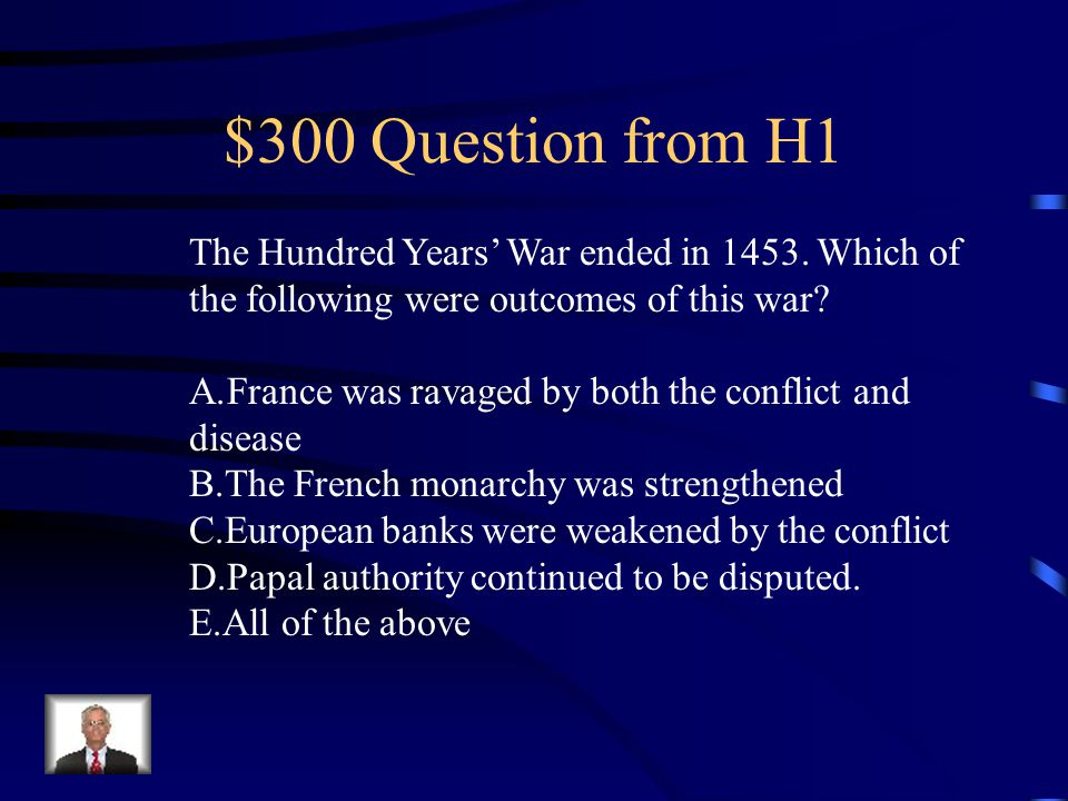 $300 Question from H5 Upon the death of the pope, a new Holy Father is selected by A.A conference of the laity B.The bishops of the Catholic Church C.The College of Cardinals D.The Swiss Guard of the Vatican E.The Holy Roman Emperor