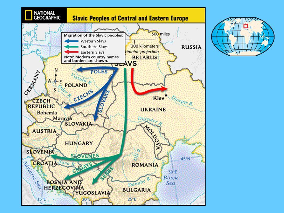 IV. Central & Eastern Europe Eastern Slavs - Moravia