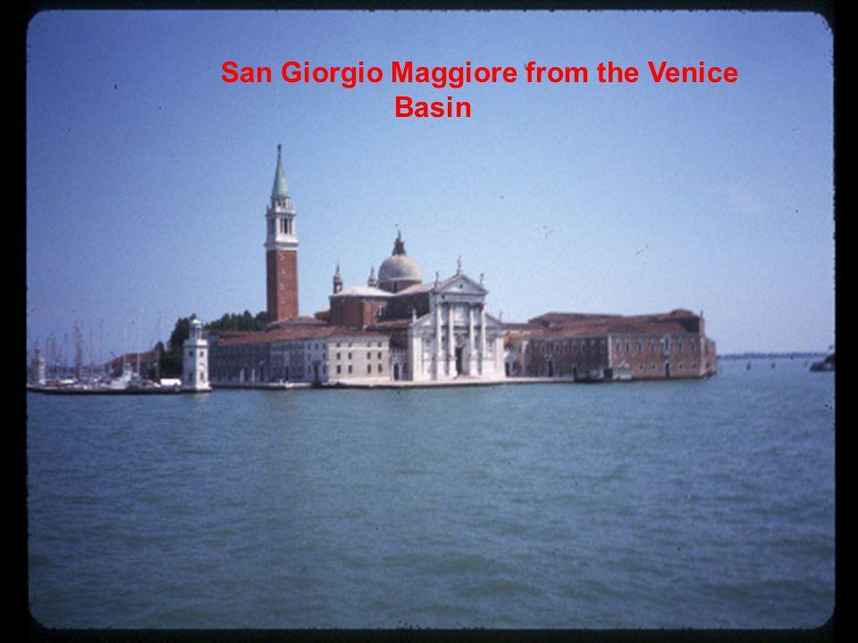 San Giorgio Maggiore from the Venice Basin