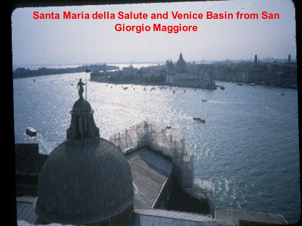 Santa Maria della Salute and Venice Basin from San Giorgio Maggiore