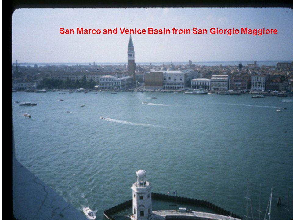 San Marco and Venice Basin from San Giorgio Maggiore