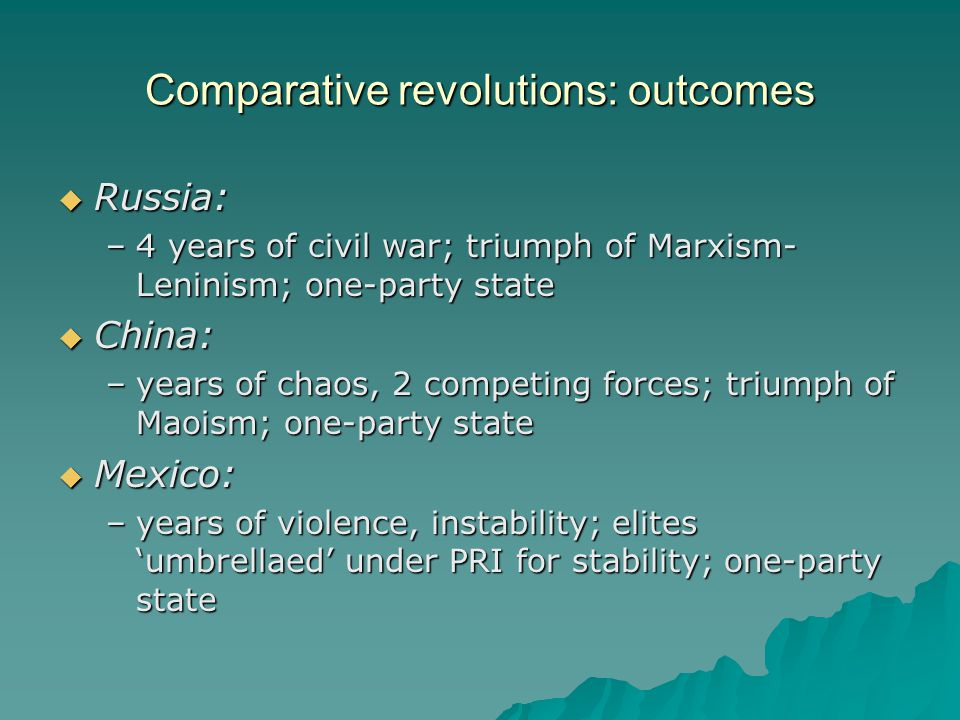 colonialism  Spain, 1519 – 1821 –social hierarchy –cultural heterogeneity: mixing of populations  60% of Mexicans today are mestizo –Catholicism: aggressive and extensive missionary drive –economic dependency : controlled by mother country, existed to enrich it –authoritarian – no indigenous autonomy
