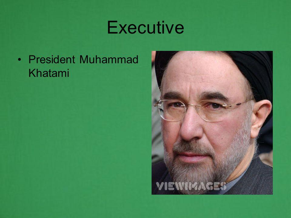 Executive President Muhammad Khatami