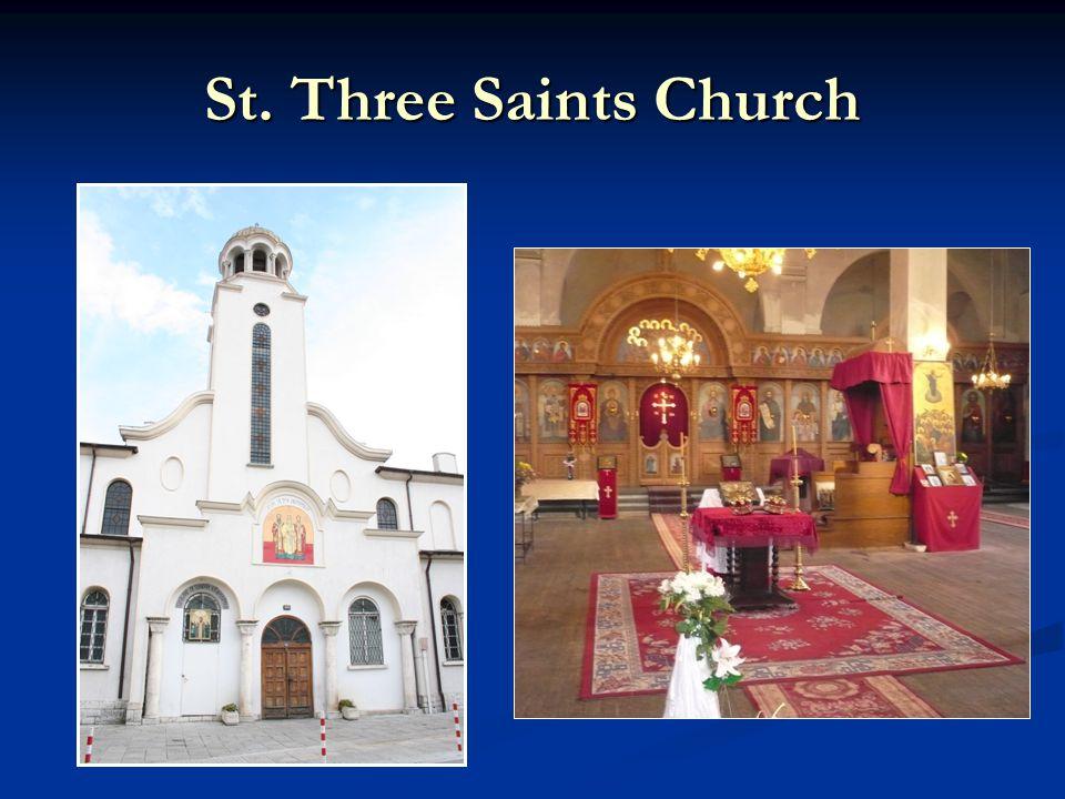 St. Three Saints Church