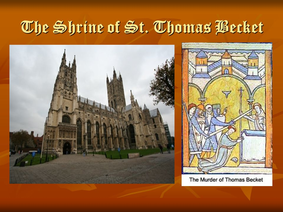 The Shrine of St. Thomas Becket