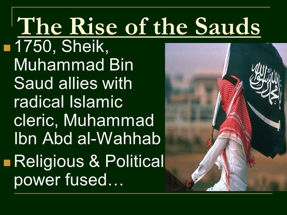 The Modern Wahhabi/Saudi Threat.
