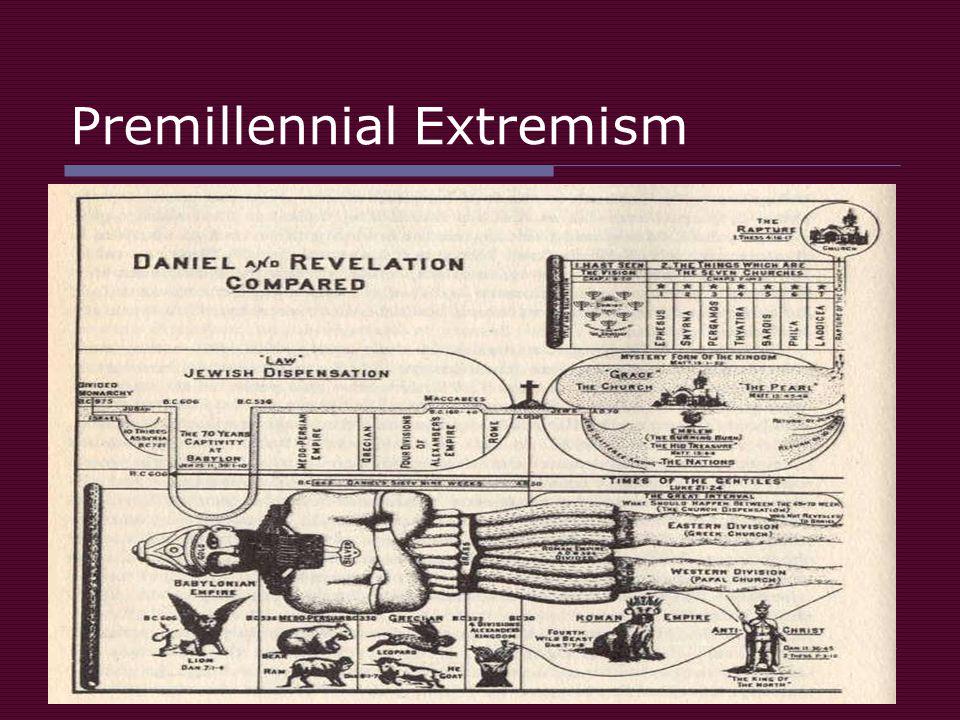 Premillennial Extremism
