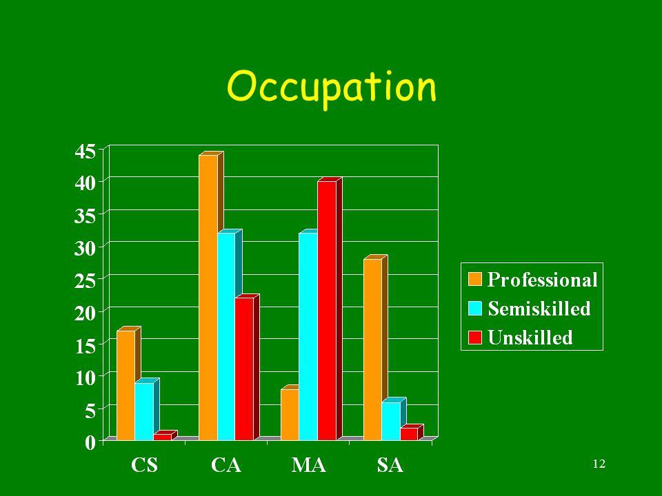 12 Occupation