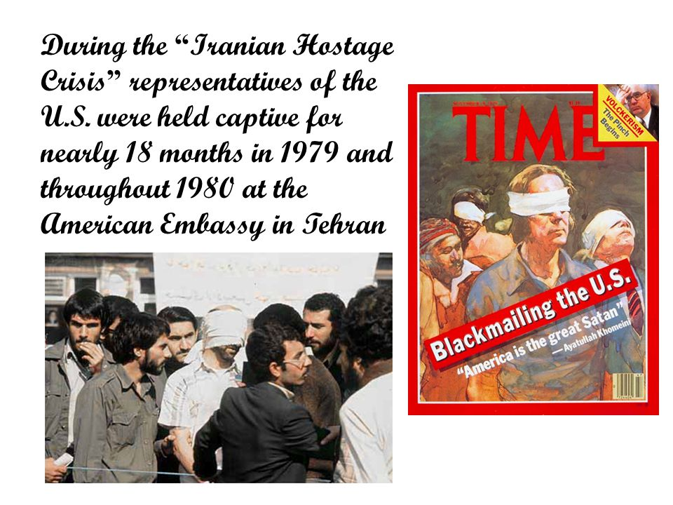 During the Iranian Hostage Crisis representatives of the U.S.