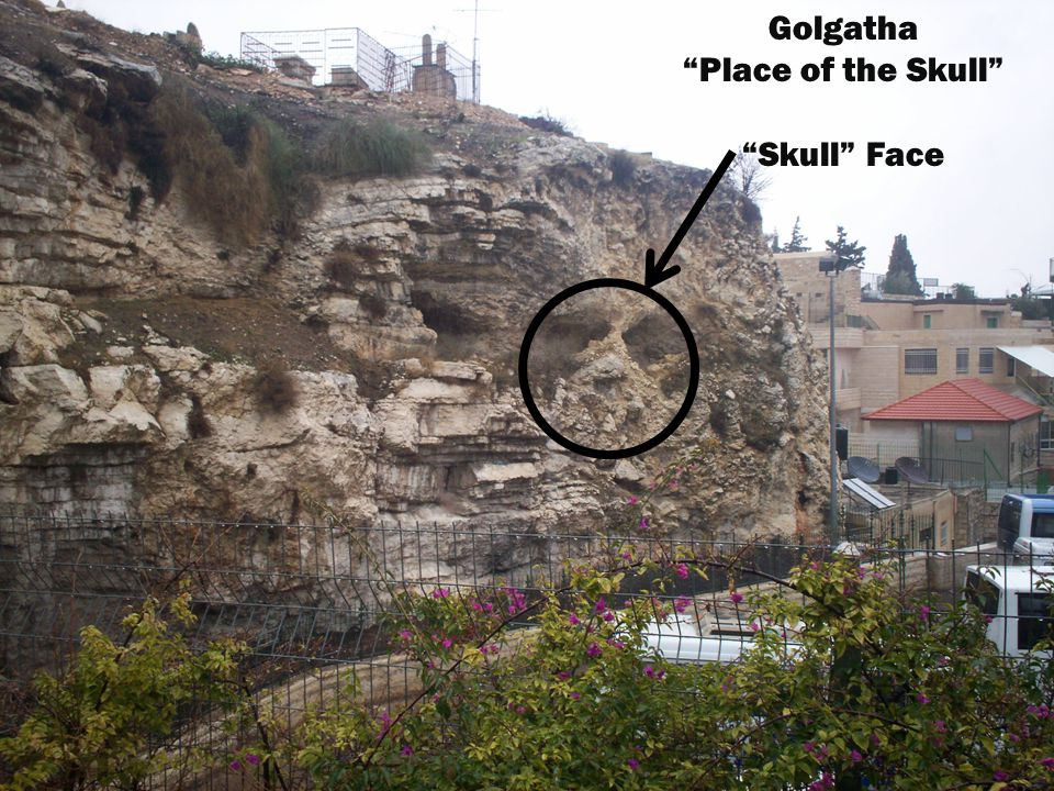 "Golgatha ""Place of the Skull"" ""Skull"" Face"