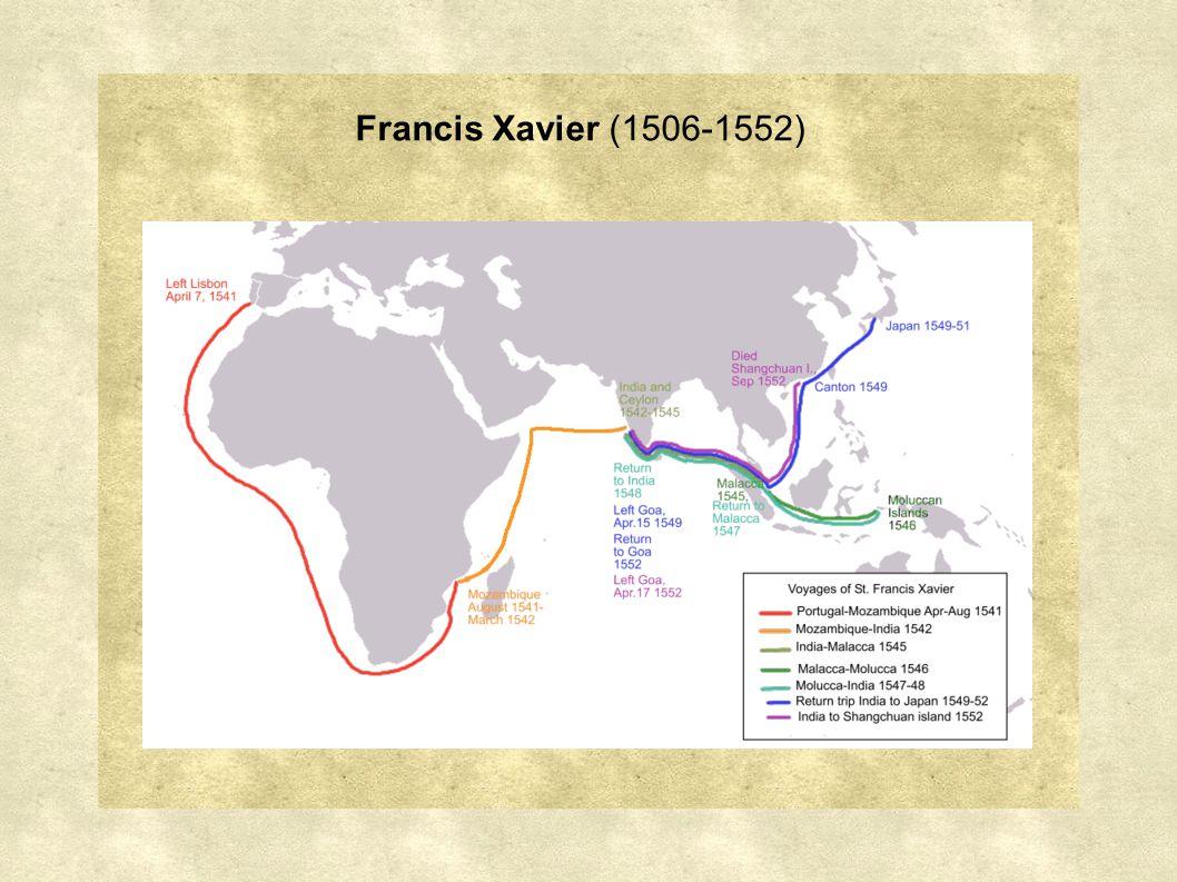 Francis Xavier (1506-1552)