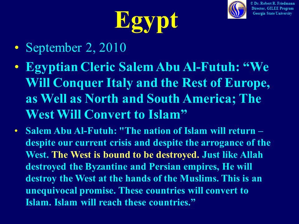 Egypt © Dr. Robert R.