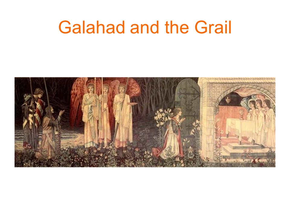 Galahad and the Grail
