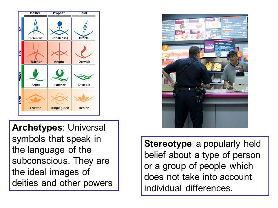 Archetypes: Universal symbols that speak in the language of the subconscious.