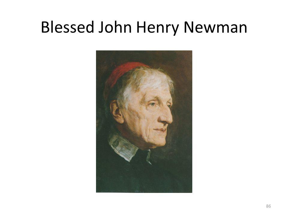 Blessed John Henry Newman 86