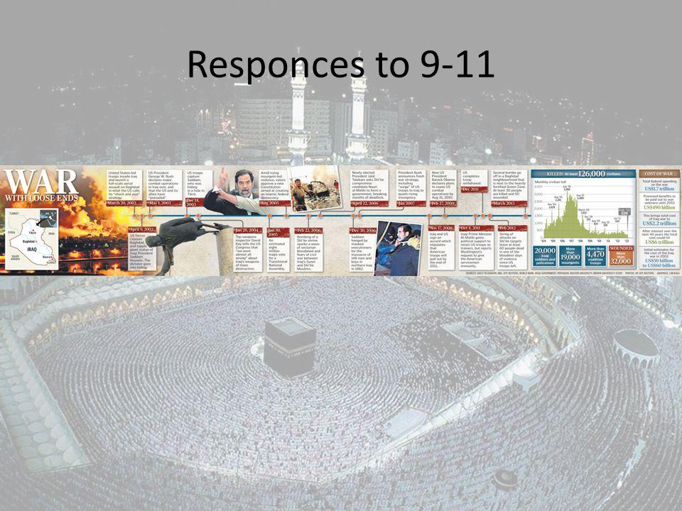 Responces to 9-11