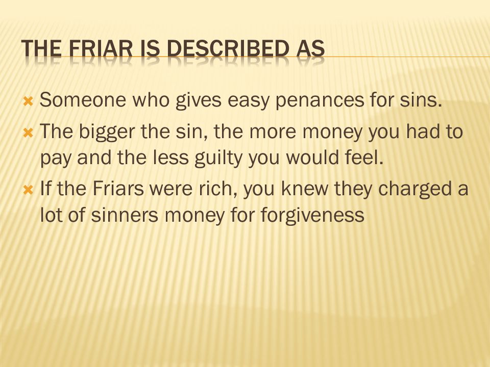  Someone who gives easy penances for sins.