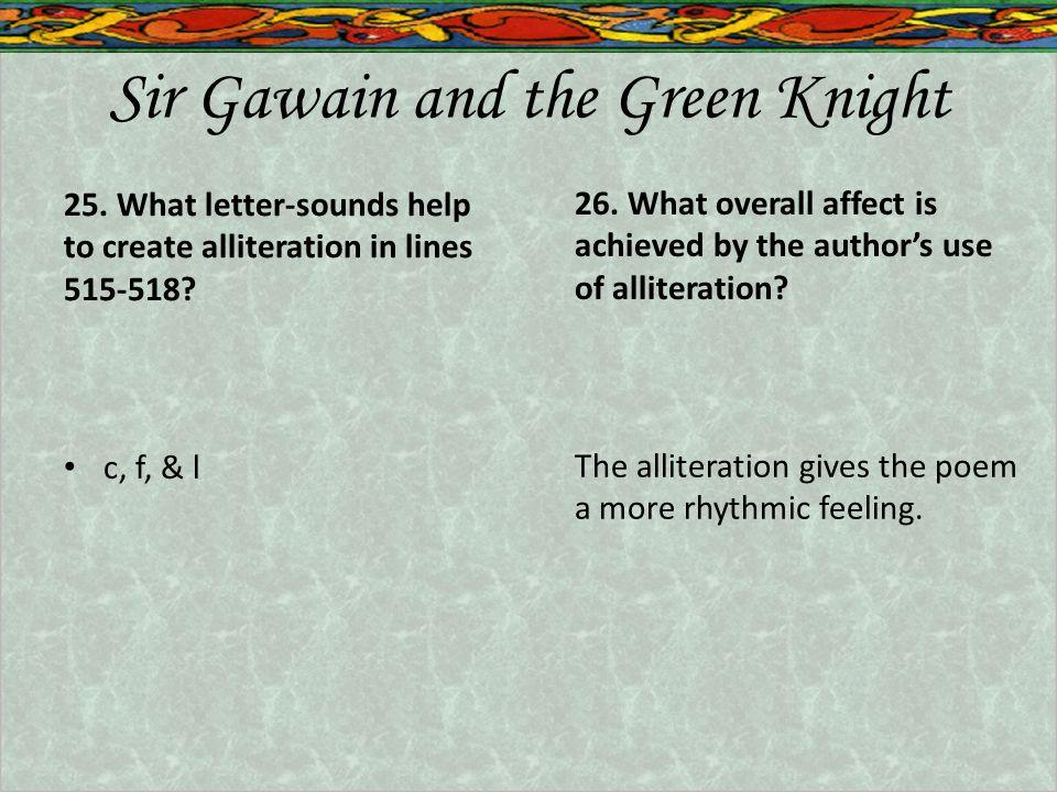 Sir Gawain and the Green Knight 25.