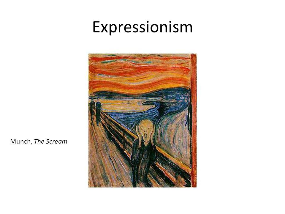Expressionism Munch, The Scream