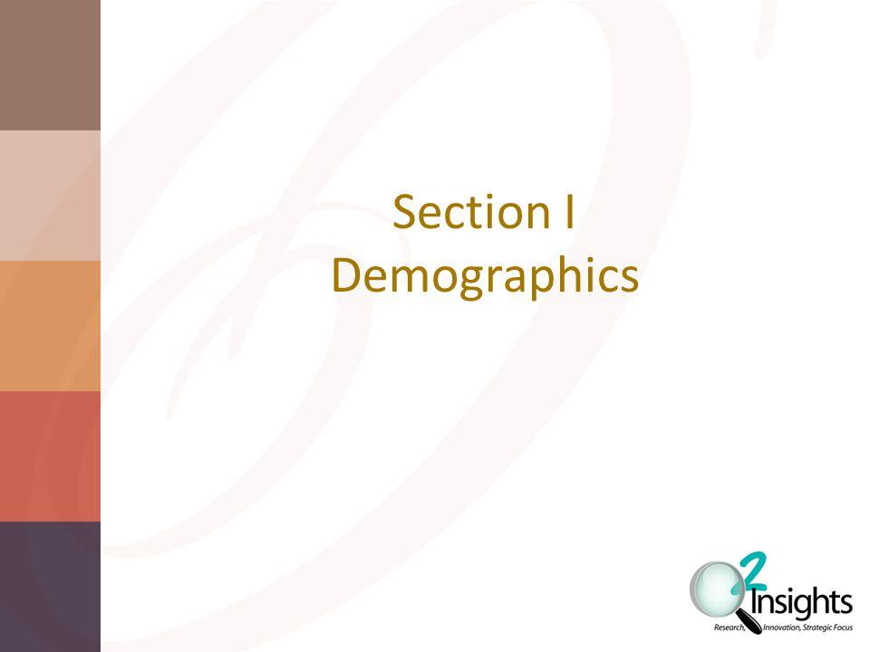 Section I Demographics