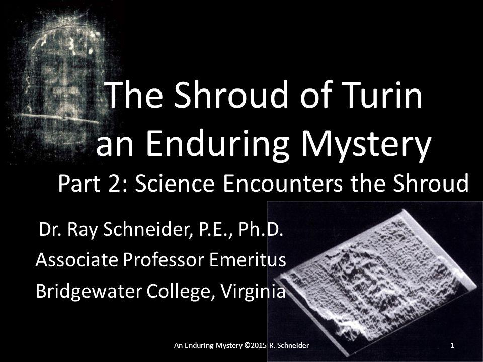 An Enduring Mystery ©2015 R.