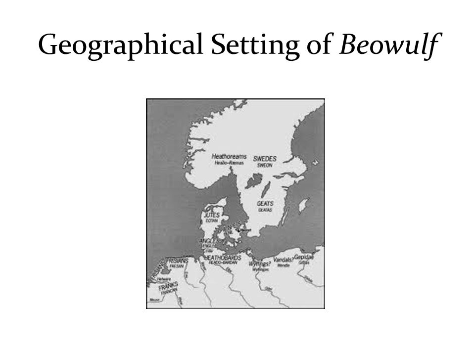 Geographical Setting of Beowulf