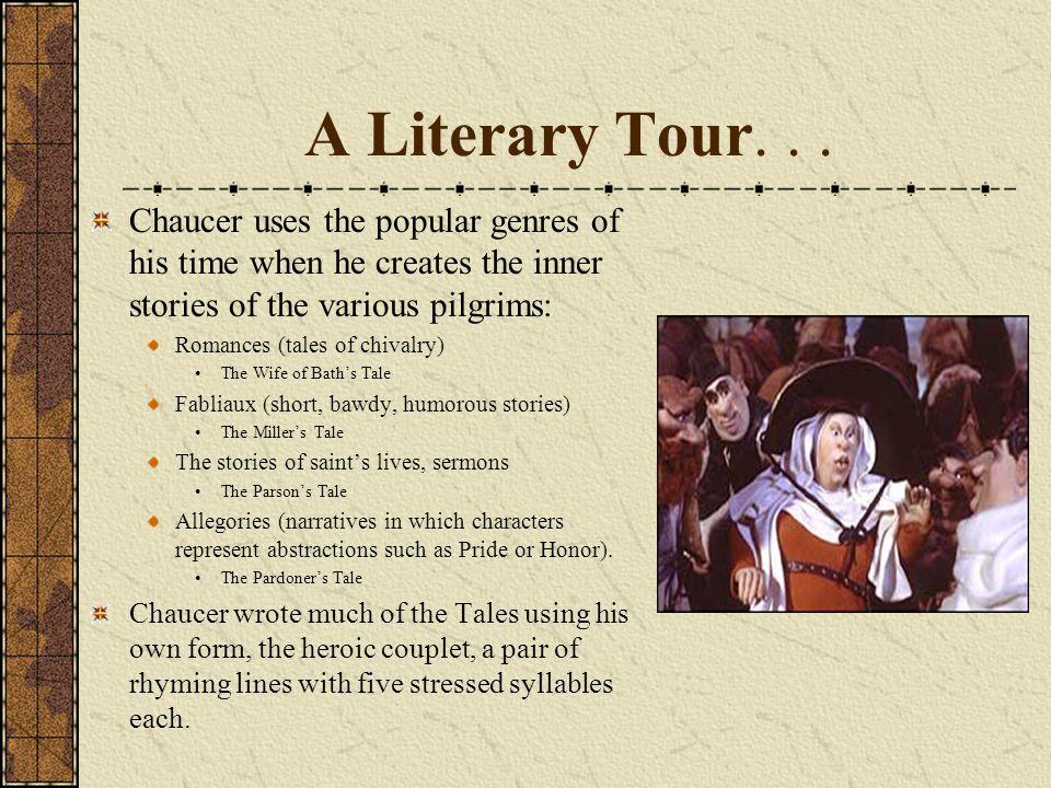 A Literary Tour...