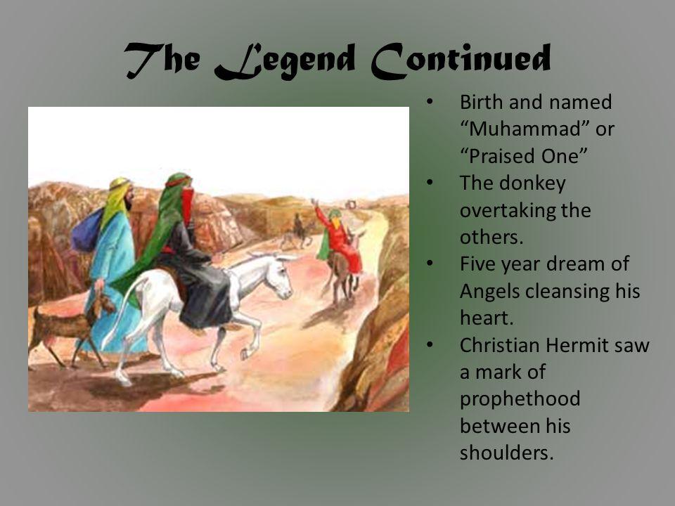 Marriage - Khadijah Muhammad ran caravans for widow named Khadijah She proposed marriage Muhammad was 25 Khadijah was 40 Supposedly a happy marriage 2 sons – died in childhood 4 daughters Died after 25 years of marriage.