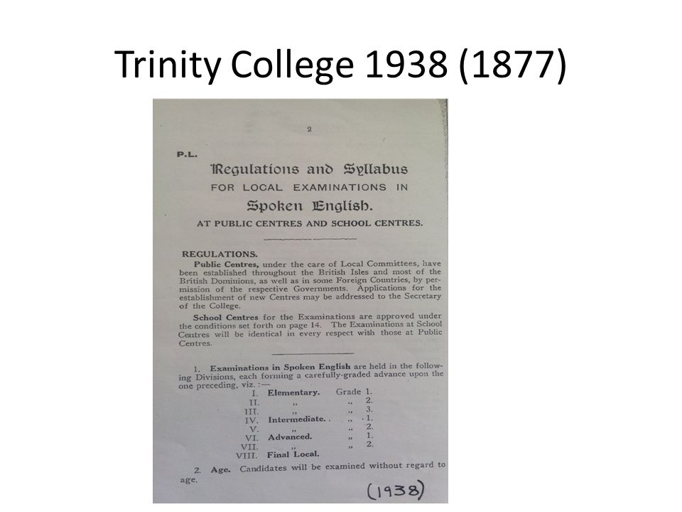 Trinity College 1938 (1877)