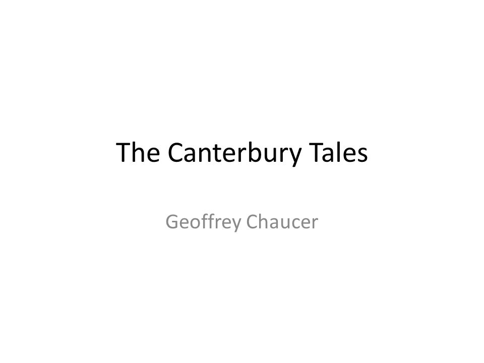 Geoffrey Chaucer was born in London c.1343 into a prosperous wine merchant family.