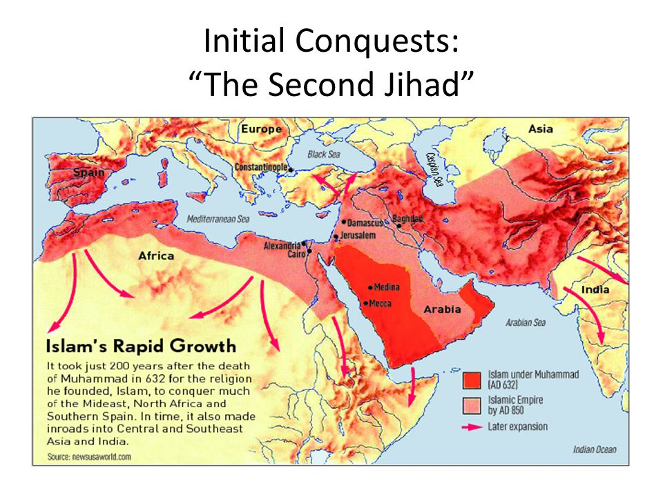Initial Conquests: The Second Jihad