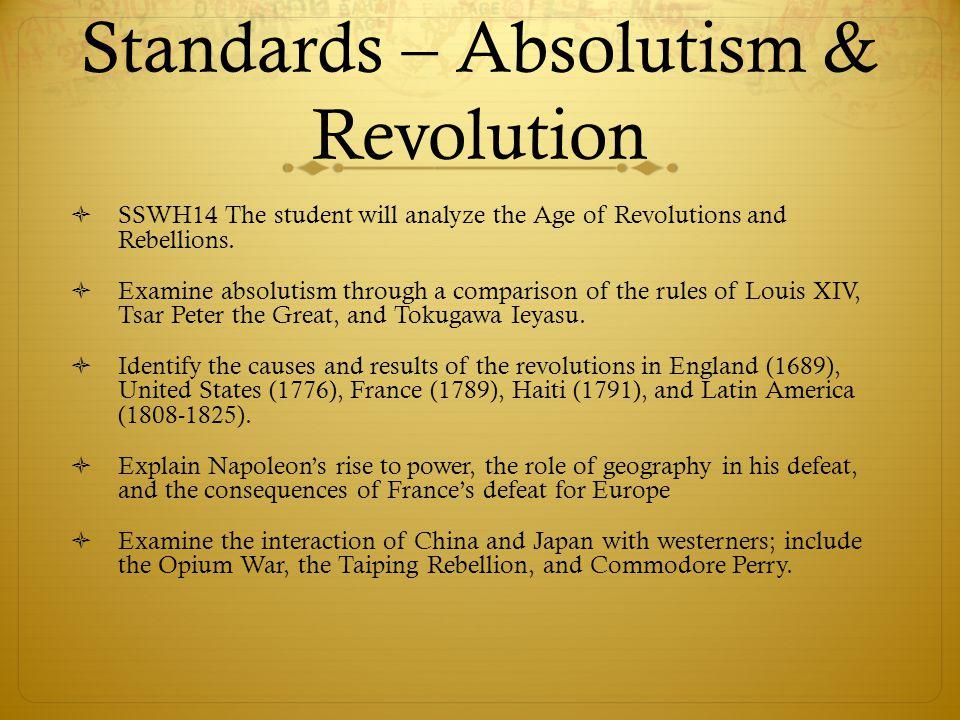 absolutism vs. democracy essay Dbq on absolutism essay absolutism and democracy  age of absolutism  absolutism pros and cons  period of absolutism  france vs england 17th century.