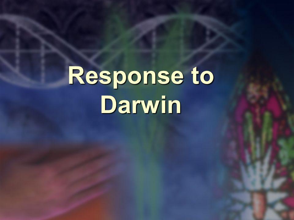 Response to Darwin