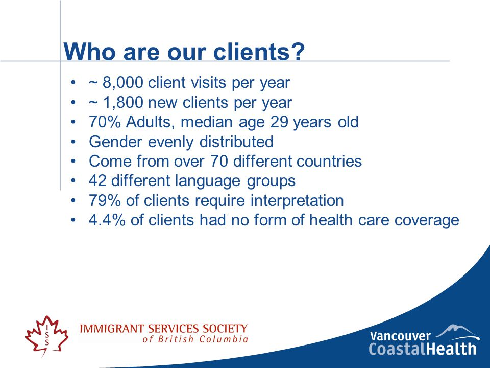Who are our clients.