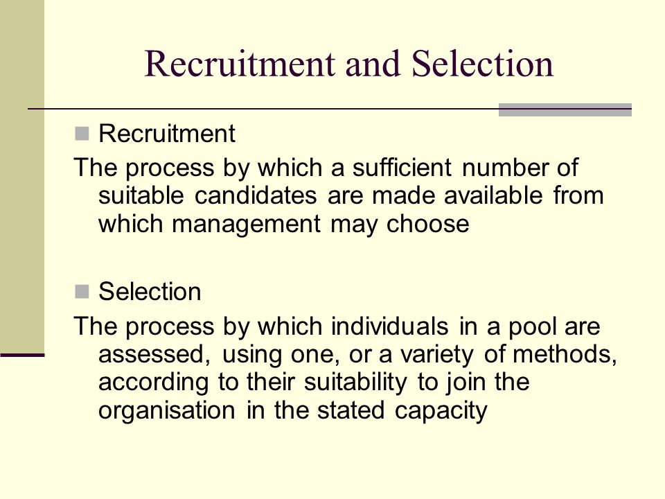 Interviews – Research criticisms (The McGill University Studies, Webster) Decisions are made in the first FOUR minutes The APPLICATION FORM is a good predictor INTERVIEWER BEHAVIOUR 'GIVES AWAY' the decision If accepted ….
